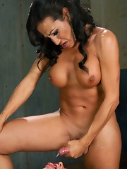 Brand new sexy latina ts dom - so hot, luscious ass, great tits, beautiful face, ruthless fucking prowess and a MASSIVE cum load. Bon Appetit