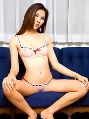 Thai Post-op Jenny teases in lingerie